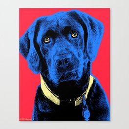Dog Gone it!   Life is Short.   Art by Robert Poster Print Canvas Print