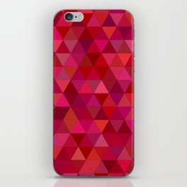 Bloody triangles iPhone Skin