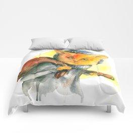 Cat Burglar Comforters