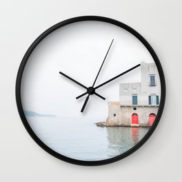 Ischia Island in Italy Sea View Wall Clock