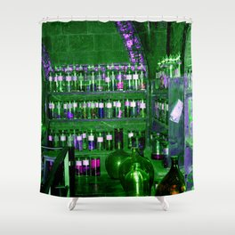 Potion Class - Green and Purple Hues Shower Curtain