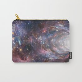 Space and stars background Carry-All Pouch