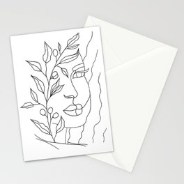Olive Branch Woman Stationery Cards
