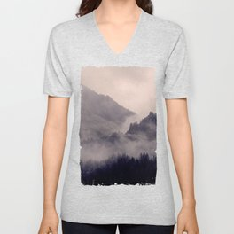 HIDDEN HILLS Unisex V-Neck