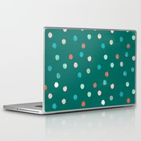 dots Laptop & iPad Skins featuring dots by Grace