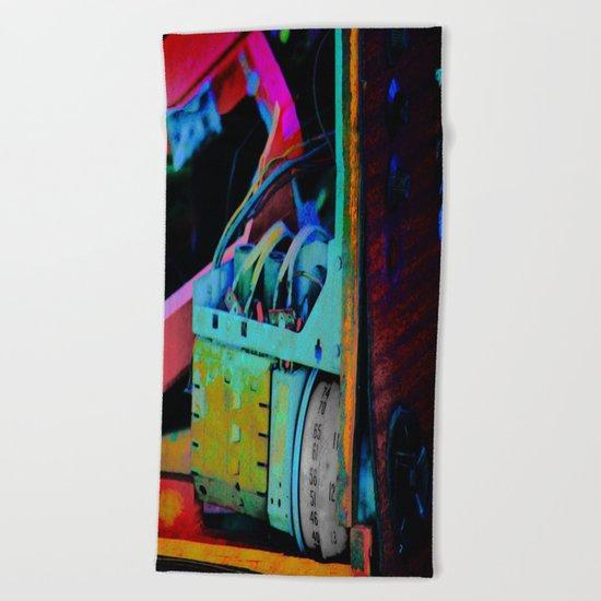 Murder Shack Electronics Beach Towel