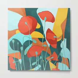 But pleasures are like poppies spread: You seize the flower Metal Print