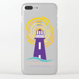 Two Brothers' Light Clear iPhone Case