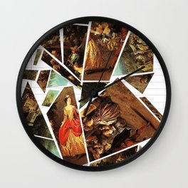 Lady's Wages Wall Clock