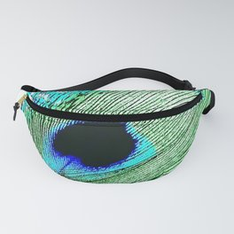 Peacock Feather - Peacock Tail Feather Fanny Pack