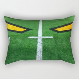 Rugby playing field Rectangular Pillow