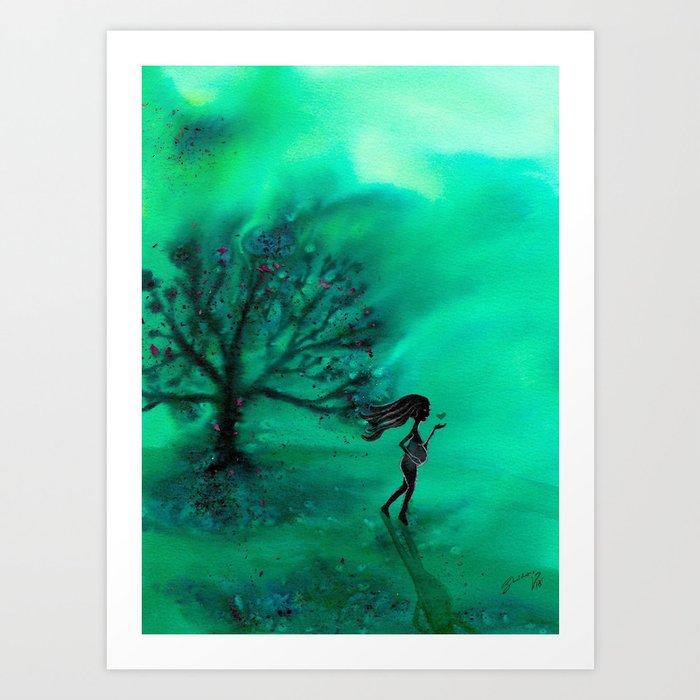 A Sacred Tree Art Print