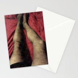 Silky LegStyle Pantyhose Portrait  Stationery Cards