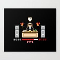 Final Boss Canvas Print