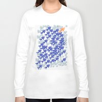 the 100 Long Sleeve T-shirts featuring 100 fishes by Michelle Behar