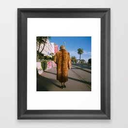 Lady of Nice Framed Art Print