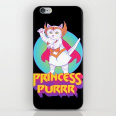 Princess of Purrr iPhone Skin