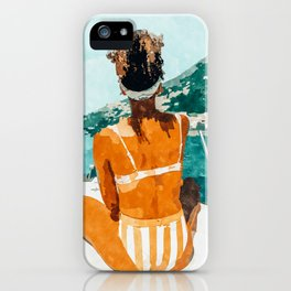 Solo Traveler iPhone Case