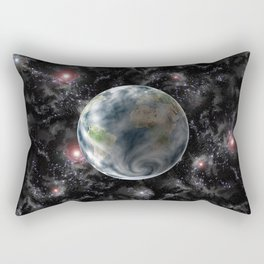 Planet Earth-Space Rectangular Pillow