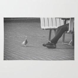 pigeon toes... Rug