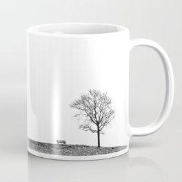 Bench Beneath Tree Coffee Mug