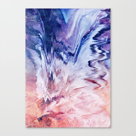As the world forgets you Canvas Print