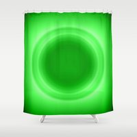 neon Shower Curtains featuring Neon  by SimplyChic