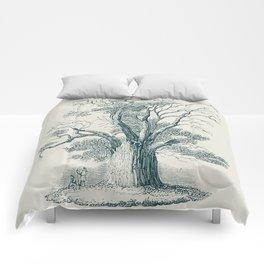 Antique Tree Illustration I Comforters