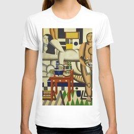 Three Women by Fernand Léger T-shirt