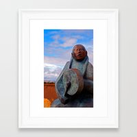 drum Framed Art Prints featuring Drum by Ron Schwartz Scenics