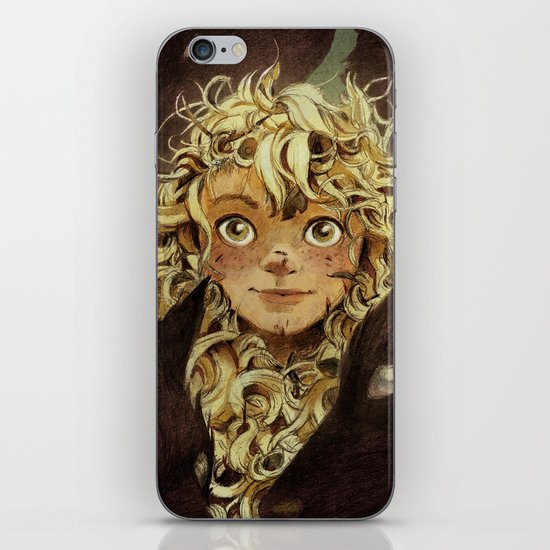 The Girl Raised by Foxes of the Northeast iPhone & iPod Skin