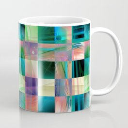 Abstract Exclusion Pattern Coffee Mug