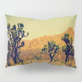 Joshua Trees in the California Desert Pillow Sham