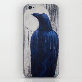 Raven Moon iPhone Skin