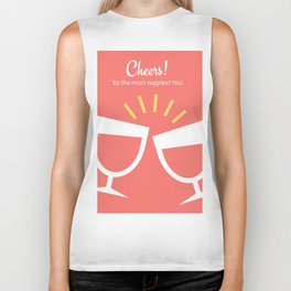 New Year Cheers! Biker Tank