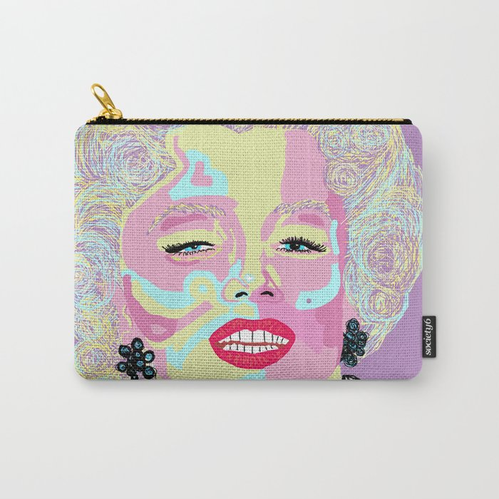 Marilyn M Carry-All Pouch