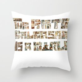 The Pirate Balthasar is a girl! Throw Pillow