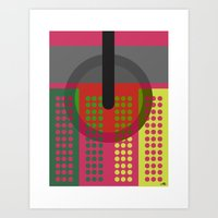 dj Art Prints featuring DJ. by Juan Carlos Campos