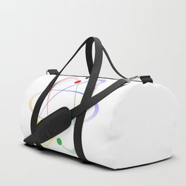 LGBT Whirling Atoms Duffle Bag