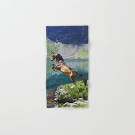 Horse and Lake Hand & Bath Towel