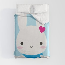 Super Cute Kawaii Bunny Duvet Cover