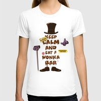 willy wonka T-shirts featuring Wonka Bar by le.duc