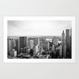South of Manhattan - New York Art Print
