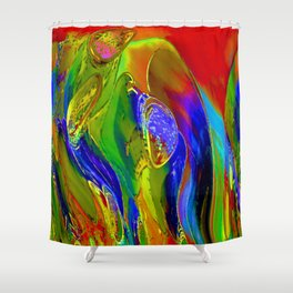Luna Garden Shower Curtain
