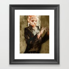 vampyr bill Framed Art Print