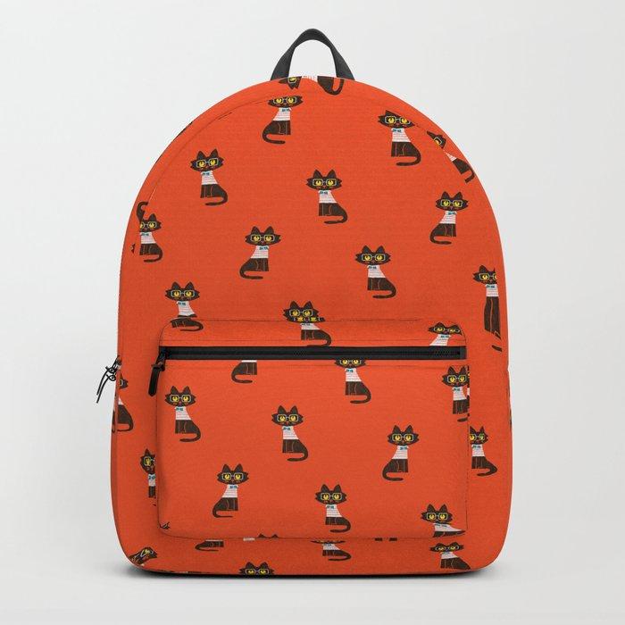 Fitz - Preppy cat Backpack