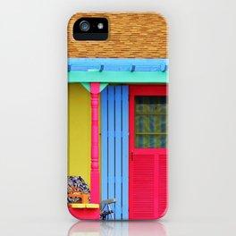 Whimsical Beach House iPhone Case