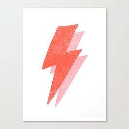 Thunder Distressed Canvas Print