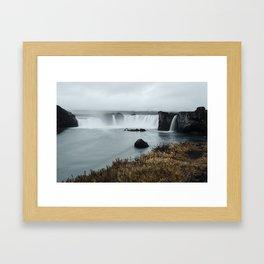 Goðafoss Framed Art Print