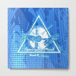Sistine Touch Metal Print